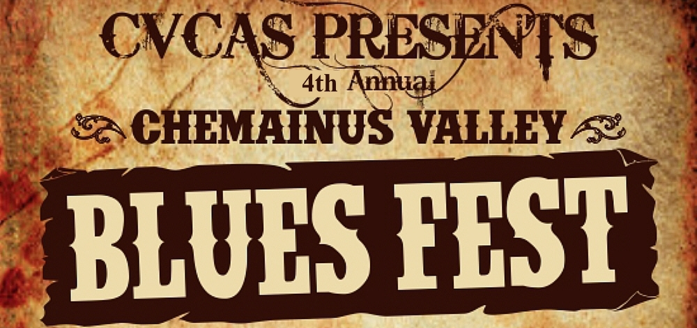 Chemainus Blues Festival - July 7, 2018. Waterwheel Park, Chemainus, BC